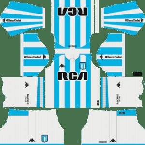 Racing Club Kits 2018/2019 Dream League Soccer