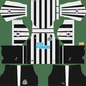 Newcastle United Kits 2018/2019 Dream League Soccer