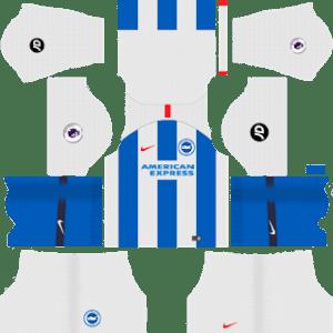 Brighton & Hove Albion Kits 2018/2019 Dream League Soccer