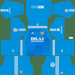Valencia CF Goalkeeper Away Kit 2019