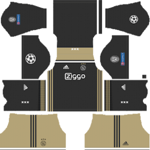 AFC Ajax UCL Away Kit