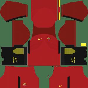 AS Roma Kits 2017/2018 Dream League Soccer
