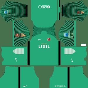 Kashima Antlers Goalkeeper Away Kit 2019