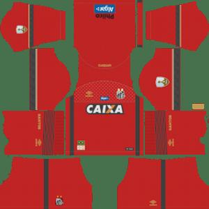 Santos FC Goalkeeper Away Kit 2019