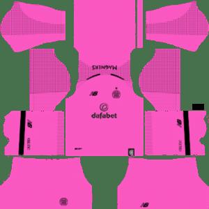 Celtic FC Goalkeeper Away Kit 2019
