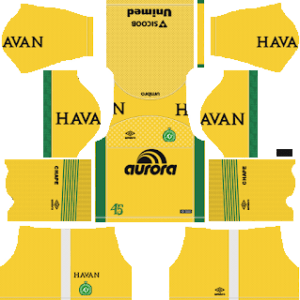 Chapecoense Goalkeeper Home Kit 2019