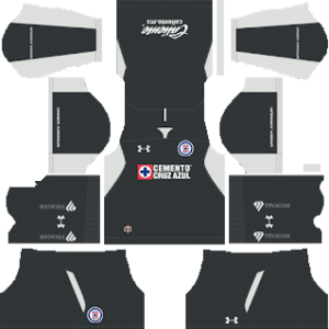 Cruz Azul Goalkeeper Home Kit 2019