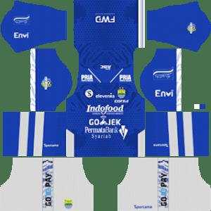 Persib Bandung Kits 2018/2019 Dream League Soccer