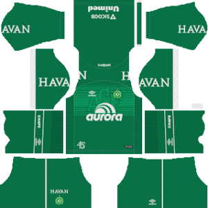 Chapecoense Kits 2018/2019 Dream League Soccer