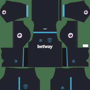 West Ham United Away Kit: