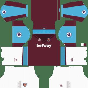 Dream League Soccer West Ham United Kits 2018