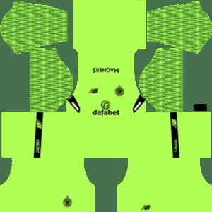 Celtic FC Goalkeeper Home Kit 2018
