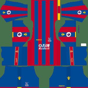 Crystal Palace FC Kits 2017/2018 Dream League Soccer