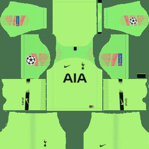 Tottenham Hotspur Goalkeeper Away Kit: