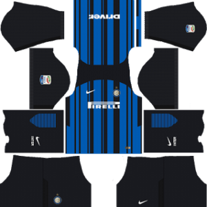 Inter Milan Kits 2017/2018 Dream League Soccer