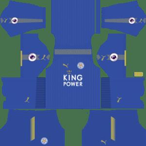 Leicester City Kit 2017/2018 Dream League Soccer