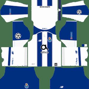 FC Porto UCL Home Kit