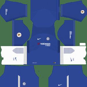 Chelsea kits 2017/2018 Dream League Soccer