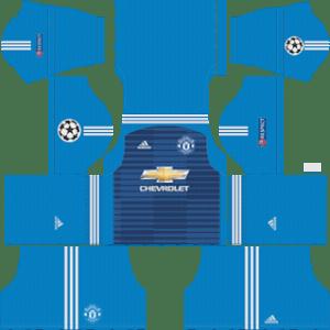 Manchester United Goalkeeper Away Kit