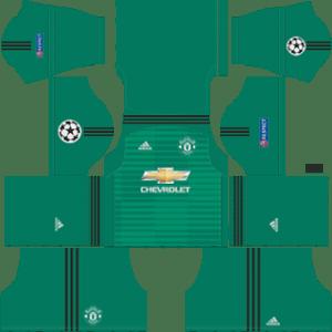 Manchester United Goalkeeper Home Kit