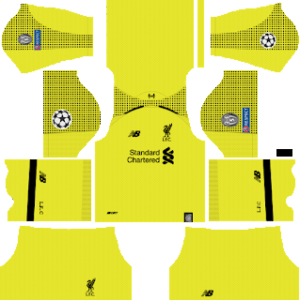 Liverpool Goalkeeper Home Kit