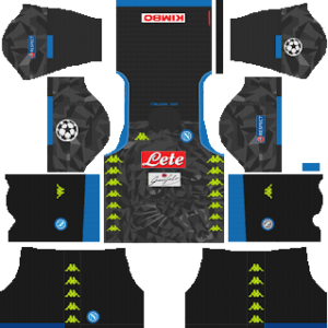 S.S.C Napoli Away Kit: