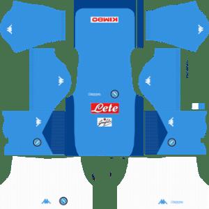 S.S.C Napoli Kits 2017/2018 Dream League Soccer