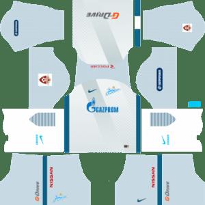 Zenit St Petersburg Away Kit: