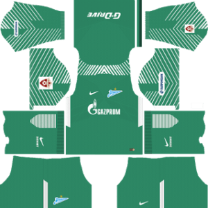 Zenit St Petersburg Goalkeeper Home Kit: