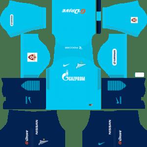 Zenit St Petersburg Kits 2017/2018 Dream League Soccer