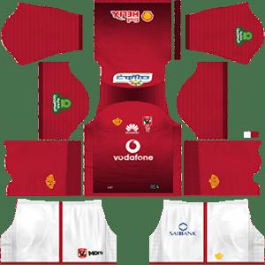 Al Ahly SC Kits 2018/2019 Dream League Soccer