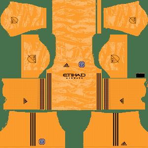 New York City FC Goalkeeper Home Kit