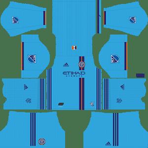 New York City FC Kits 2019/2020 Dream League Soccer