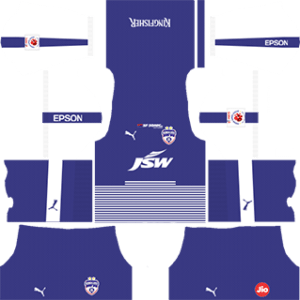 Bengaluru FC Kits 2017/2018 Dream League Soccer