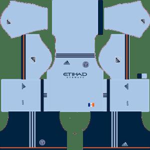 New York City FC Kits 2017/2018 Dream League Soccer