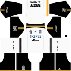 Tigres UANL Goalkeeper Home Kit
