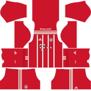 Bayern Munich Kits 2017/2018 Dream League Soccer