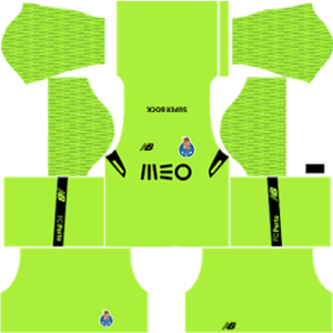 FC Porto Goalkeeper Third Kit