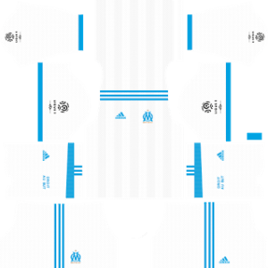 Olympique de Marseille Kits 2017/2018 Dream League Soccer