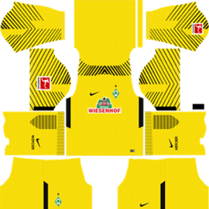 SV Werder Bremen Goalkeeper Home Kit