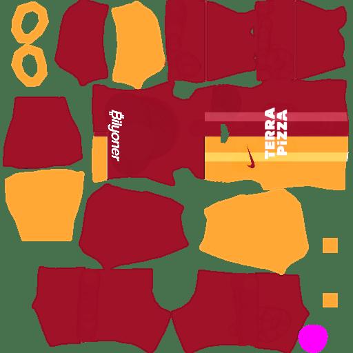 Galatasaray S.K. Kits 2020 Dream League Soccer