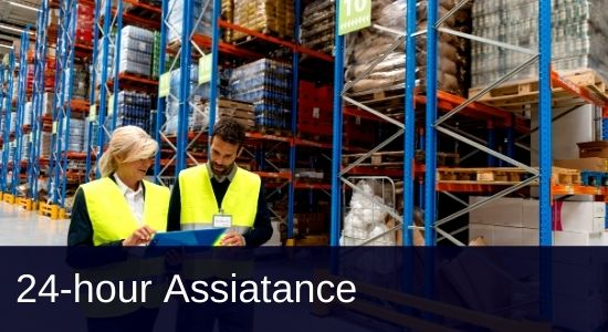 Warehousing -24 hour assistance - FTS Group