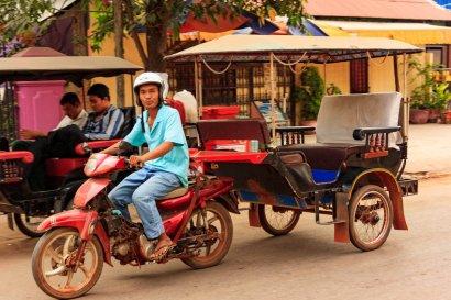Tuk-Tuk in Siem Reap