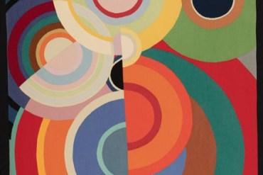 Custot Gallery Dubai - Sonia Delaunay 1885 - 1979 Automne circa 1970_RE