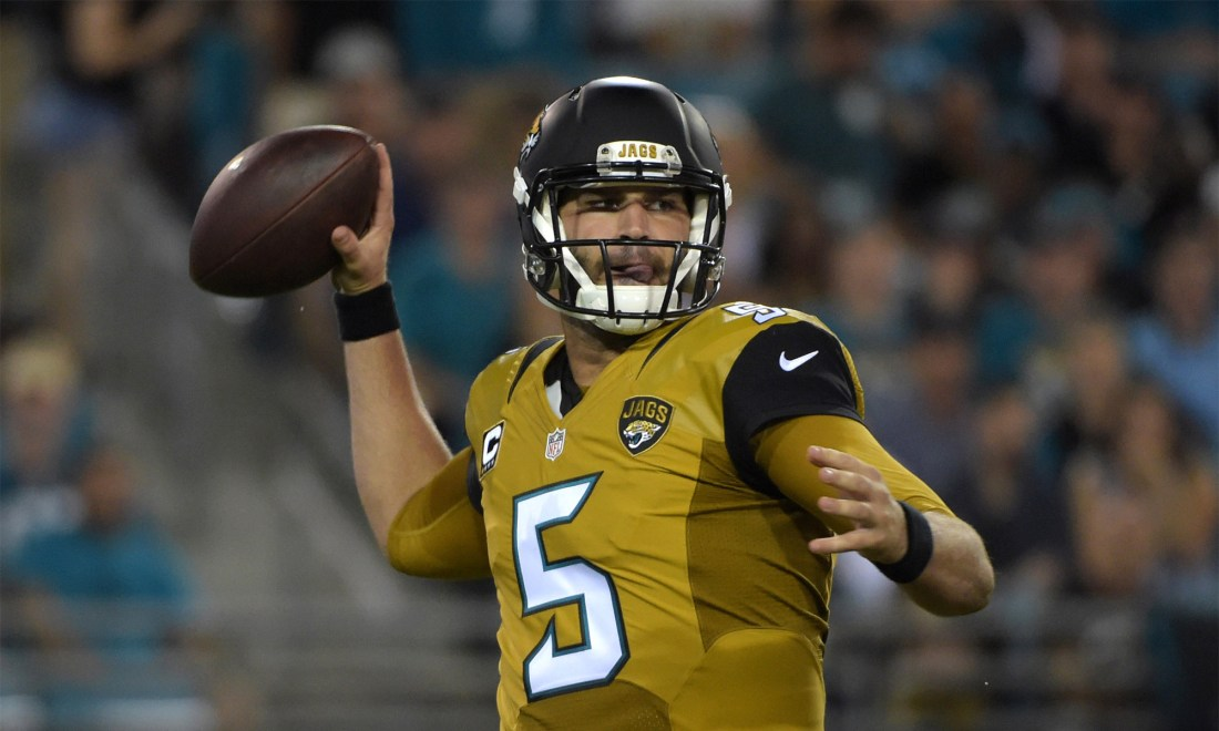 Blake Bortles calls the Jaguars' color rush uniforms 'ugly as hell'   For  The Win