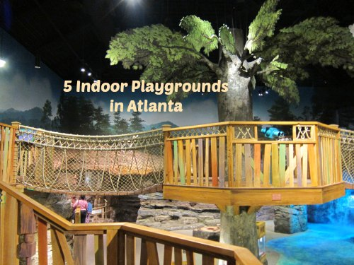 Five Indoor Playgrounds in Atlanta