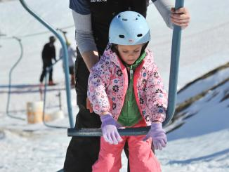 Family Skiing at Beech Mountain via Field Trips with Sue