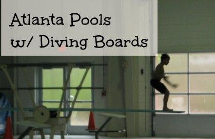 Atlanta Pools with Diving Boards via @SueRodman @FieldTripswSue
