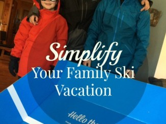 Simplify Your Family Ski Vacation