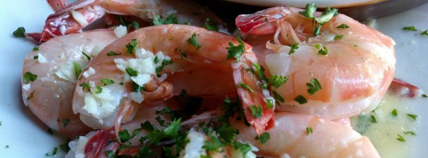 Enjoy shrimp off the boats on Tybee Island, Ga.